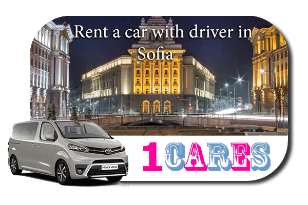 Hire a car with driver in Sofia
