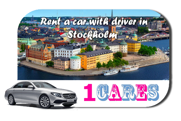 Hire a car with driver in Stockholm