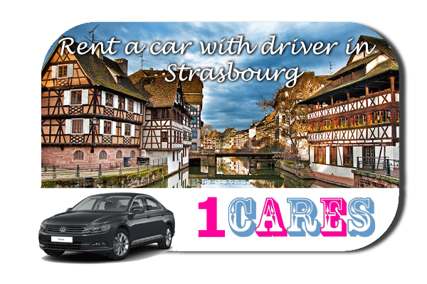 Rent a car with driver in Strasbourg