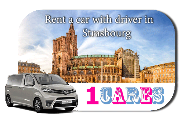 Hire a car with driver in Strasbourg