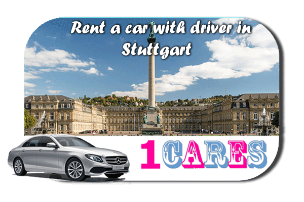 Rent a car with driver in Stuttgart