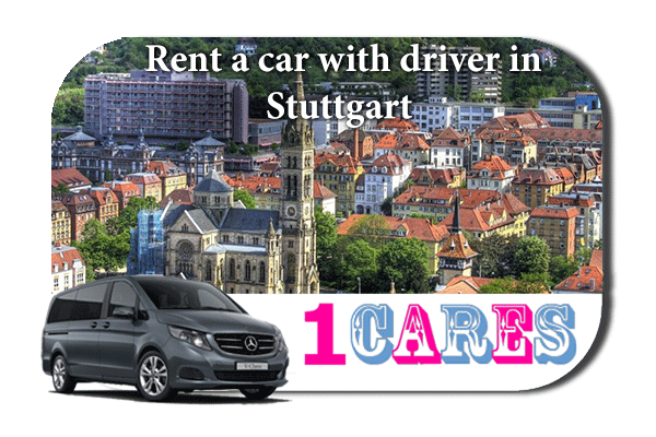 Hire a car with driver in Stuttgart