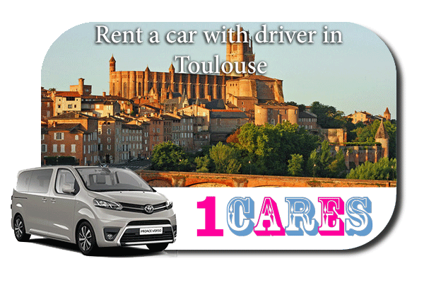 Hire a car with driver in Toulouse