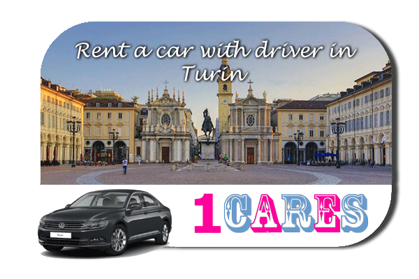 Rent a car with driver in Turin