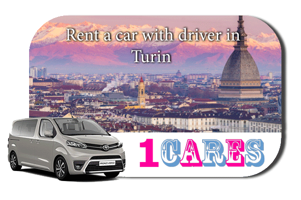 Hire a car with driver in Turin