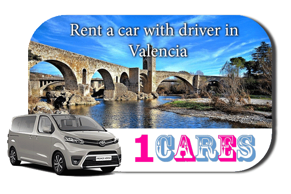 Hire a car with driver in Valencia