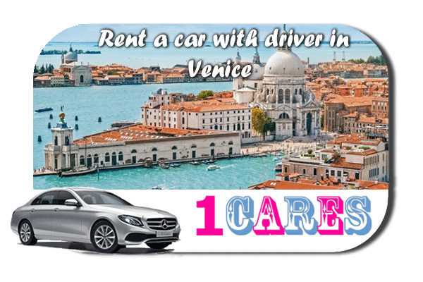 Rent a car with driver in Venice