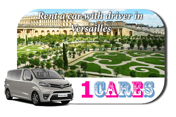 Hire a car with driver in Versailles