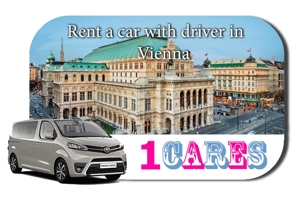 Hire a car with driver in Vienna