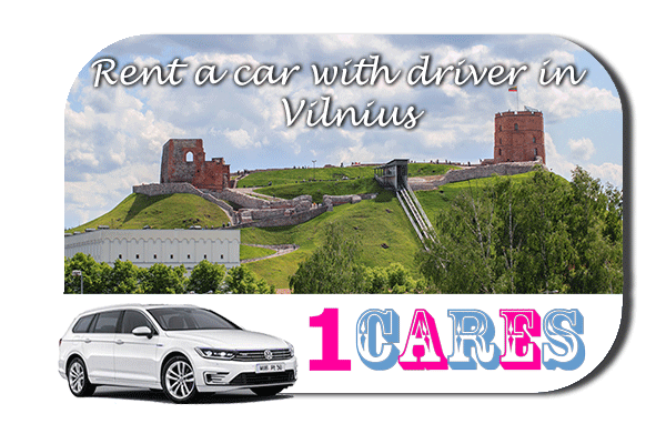 Rent a car with driver in Vilnius