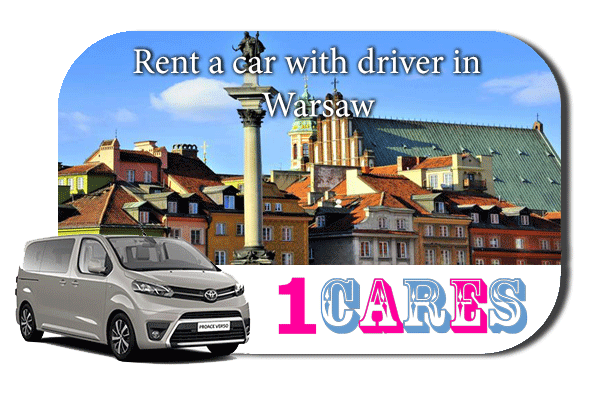 Hire a car with driver in Warsaw