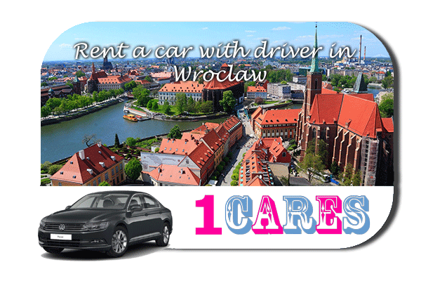 Rent a car with driver in Wroclaw