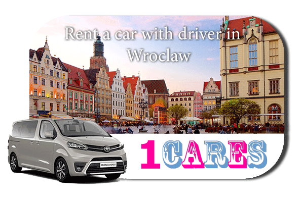 Hire a car with driver in Wroclaw