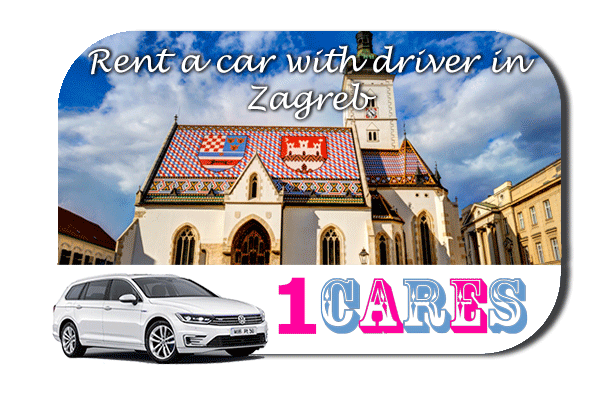 Rent a car with driver in Zagreb
