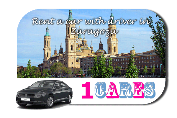 Rent a car with driver in Zaragoza