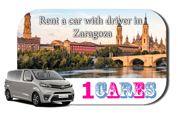 Hire a car with driver in Zaragoza