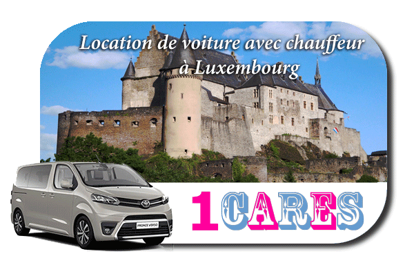 Service chauffeur à Luxembourg