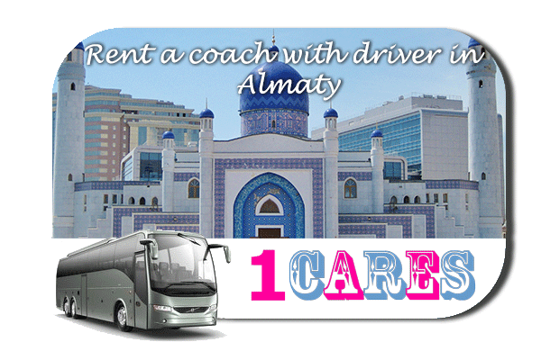 Rent a coach with driver in Almaty