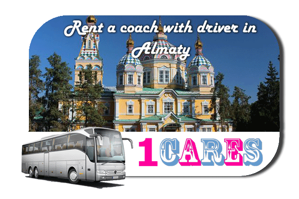 Rent a cоаch with driver in Almaty