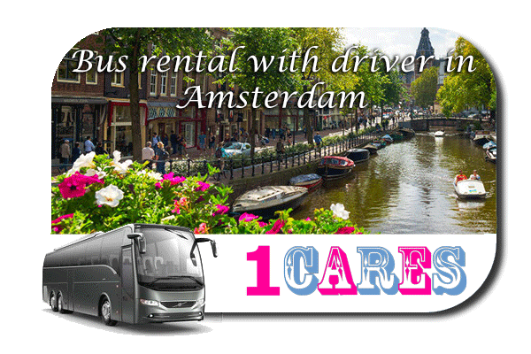 Rent a coach with driver in Amsterdam