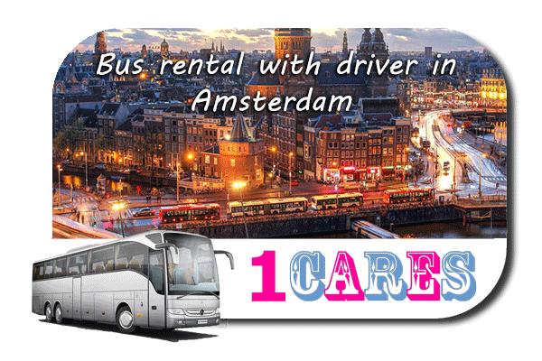 Rent a cоаch with driver in Amsterdam