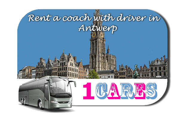 Rent a coach with driver in Antwerp