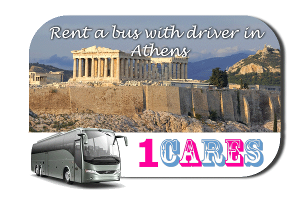 Rent a coach with driver in Athens