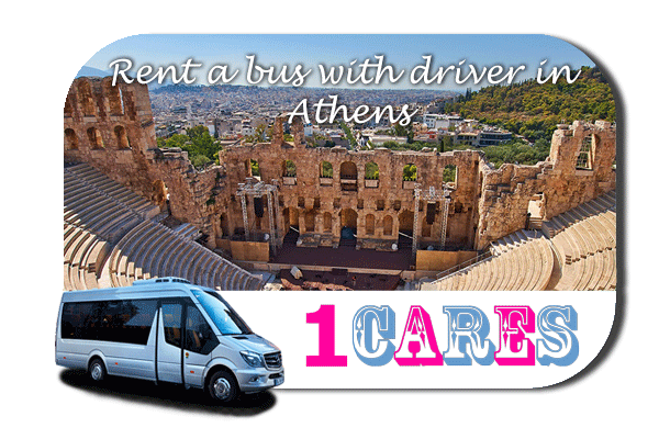 Hire a coach with driver in Athens