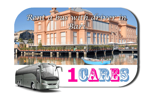 Rent a coach with driver in Bari