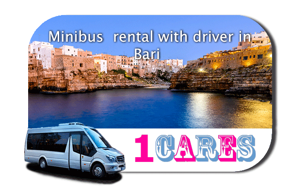 Hire a coach with driver in Bari
