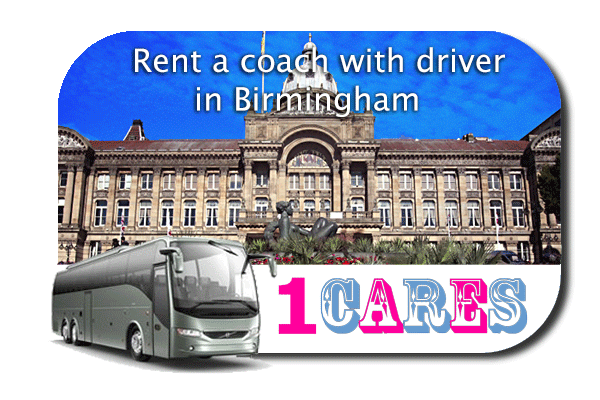 Rent a coach with driver in Birmingham