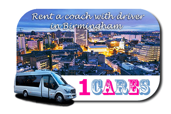 Hire a coach with driver in Birmingham