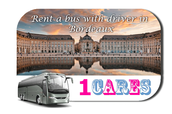 Rent a coach with driver in Bordeaux