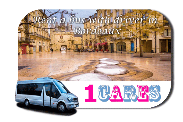 Hire a coach with driver in Bordeaux