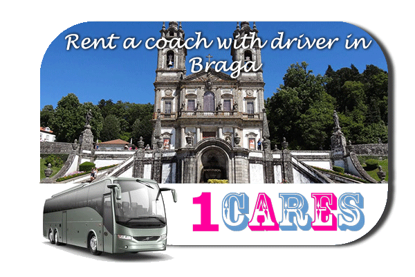 Rent a coach with driver in Braga