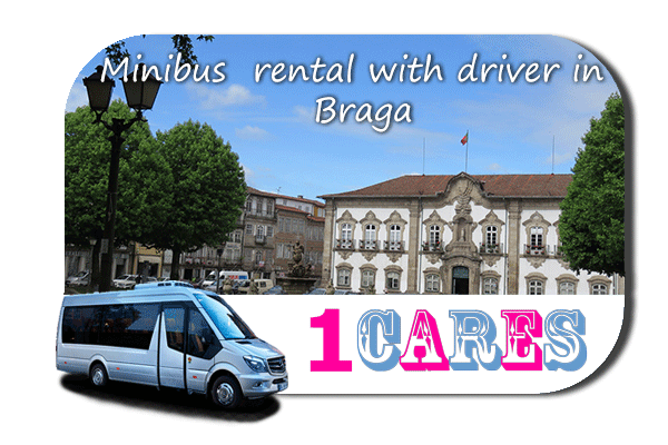 Hire a coach with driver in Braga