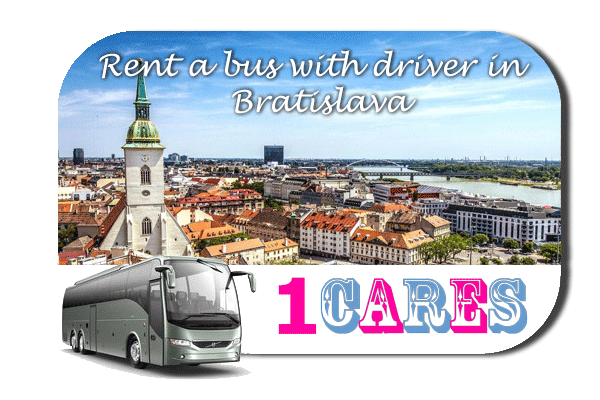 Rent a coach with driver in Bratislava