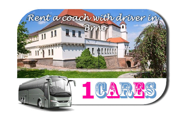 Rent a coach with driver in Brno