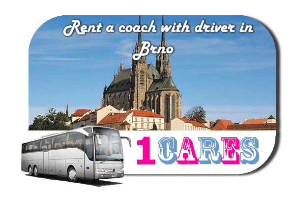 Rent a cоаch with driver in Brno