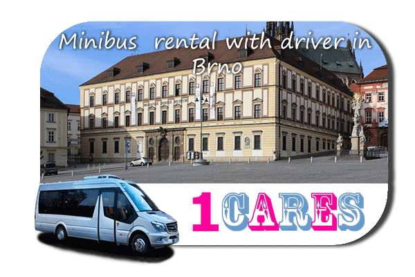 Hire a coach with driver in Brno