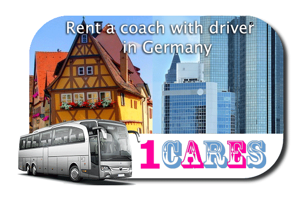 Rent a coach with driver in Germany