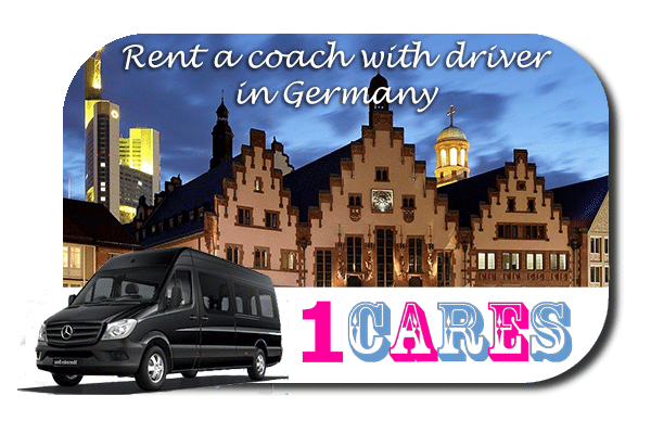 Hire a coach with driver in Germany