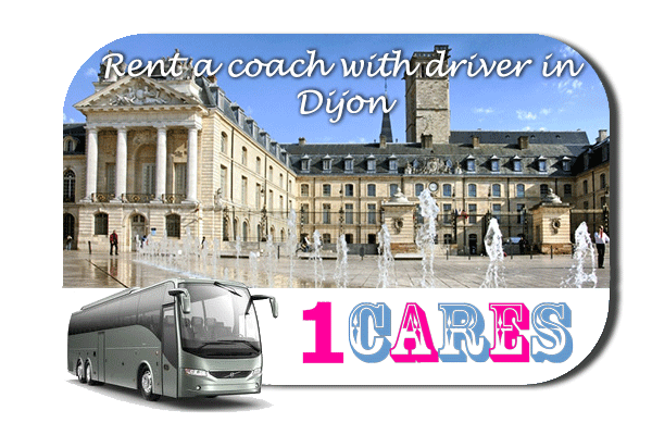 Rent a coach with driver in Dijon