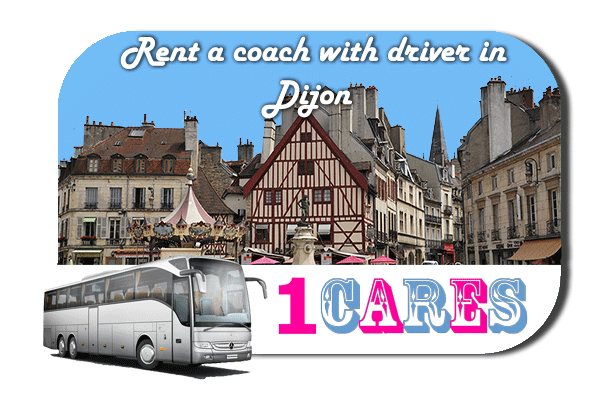 Rent a cоаch with driver in Dijon
