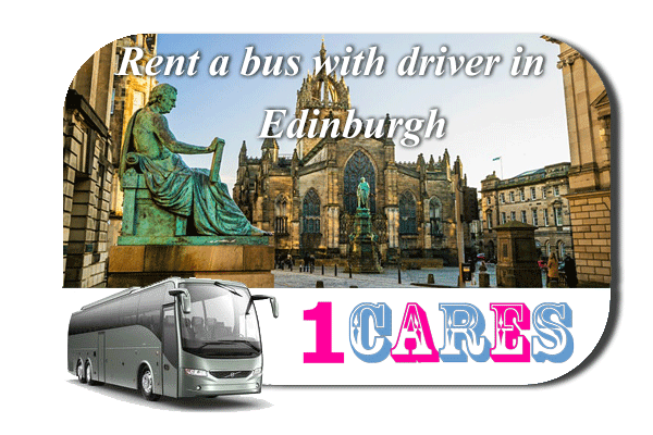 Rent a coach with driver in Edinburgh