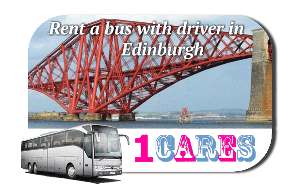 Rent a cоаch with driver in Edinburgh
