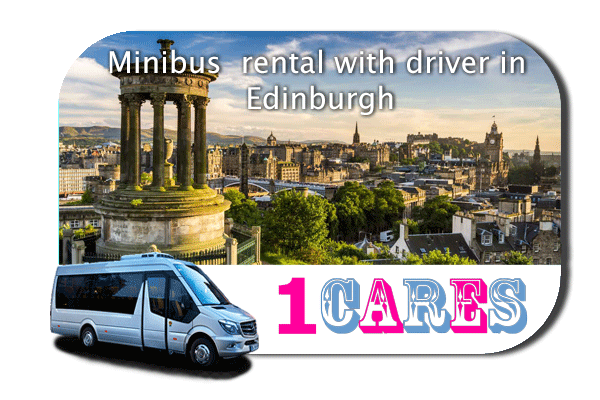 Hire a coach with driver in Edinburgh