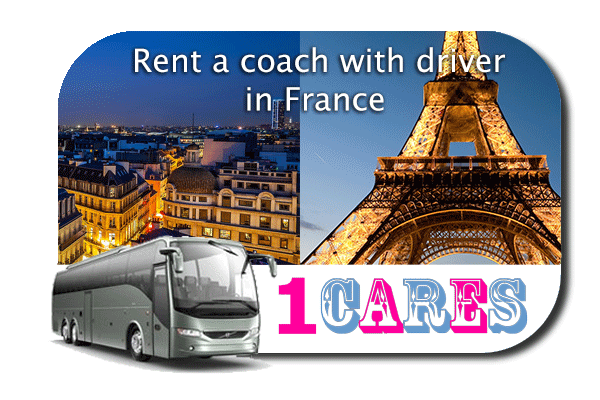 Rent a coach with driver in France