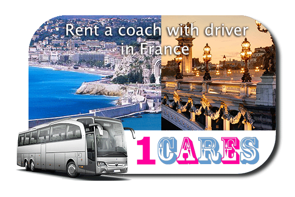 Rent a cоаch with driver in France