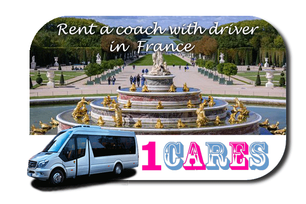 Hire a coach with driver in France